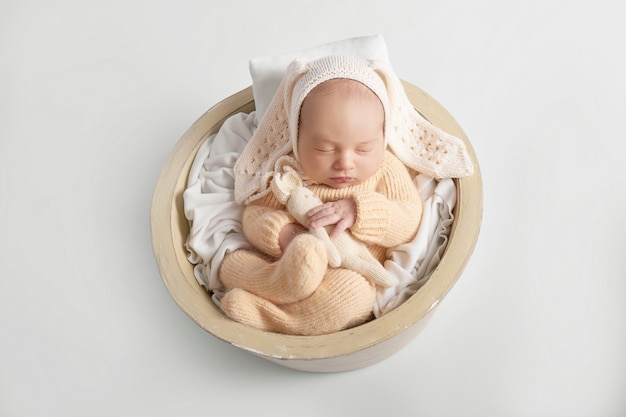 Newborn baby boy 1 month