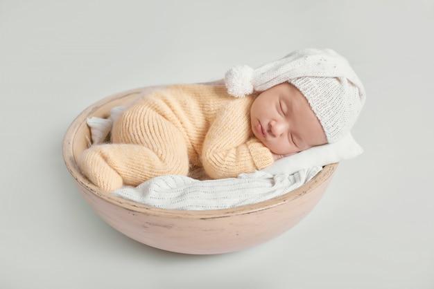 Newborn baby boy 1 month