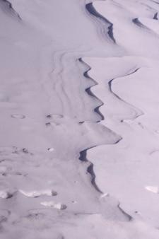 Недавно снег в качестве фона
