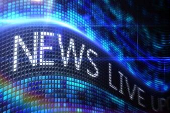 News live on digital screen