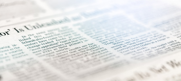 Газета фон текстуры, бизнес фон