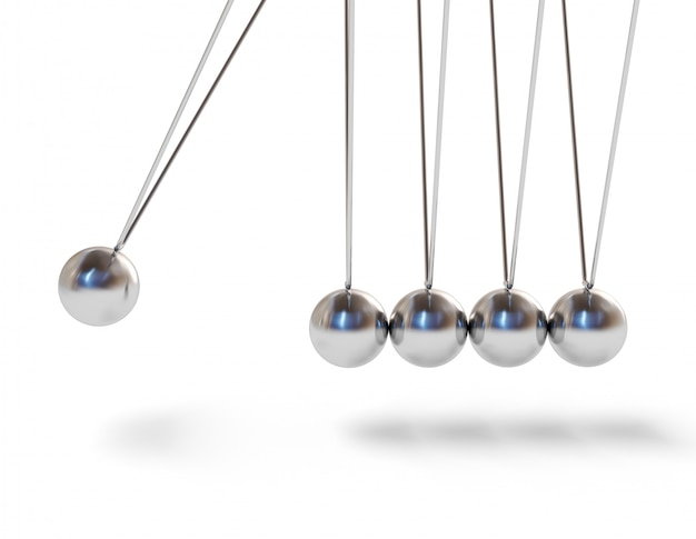 Newton's cradle executive