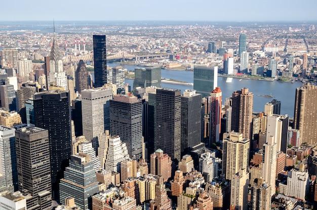 Newyork city skyline, new york, united states of america