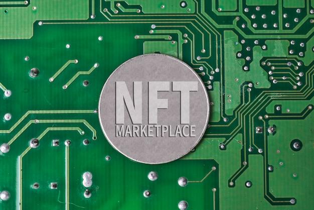 Монета nft на печатной плате, электронная плата и технология nft, внедряющая новую технологию nft ...