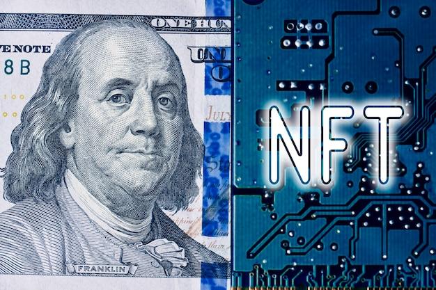 Nft на печатной плате электронная плата доллар сша и технология nft внедряют новую техн ...