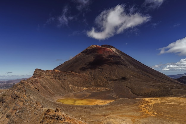 ナウルホエ火山。トンガリロ国立公園