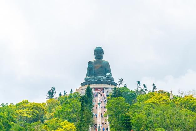 香港ngong pingで巨大な仏像