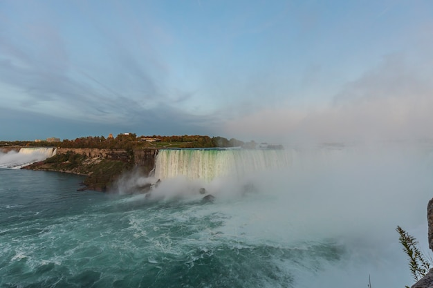 Niagara falls view from the canadian side