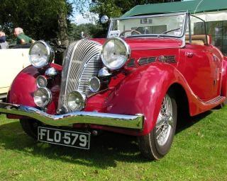 Nice car, old