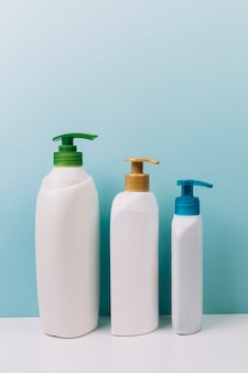 Nice cosmetics bottles with pumps
