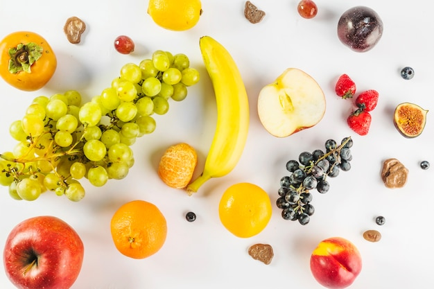 Nice and healthy fruits