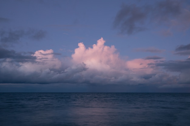 Nice pinky cloud