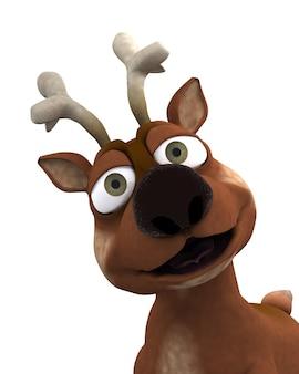 Nice reindeer character