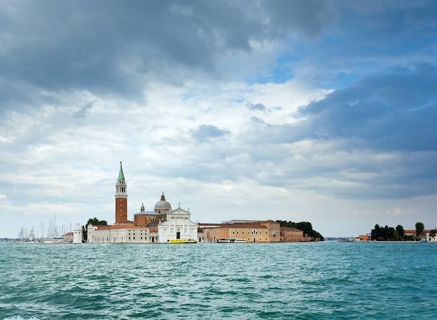 좋은 여름 베네치아 바다 전망