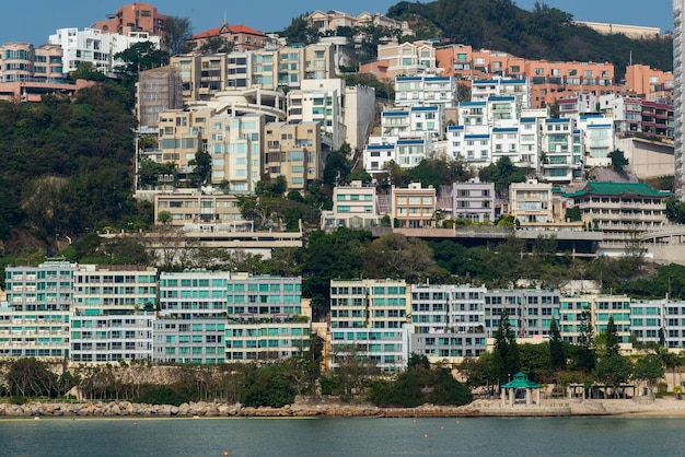 Nice view of the repulse bay and tin hau temple, hong kong