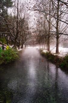 素敵な冬の風景。