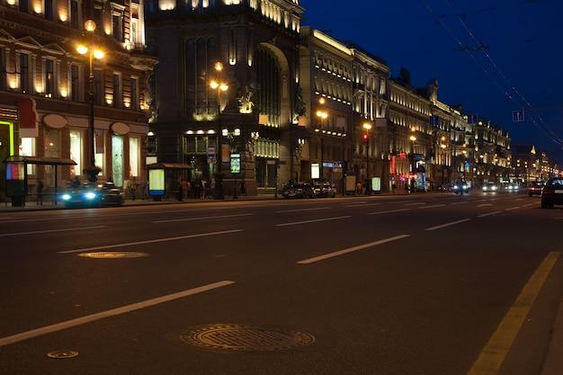 Ночной петербург Бесплатные Фотографии
