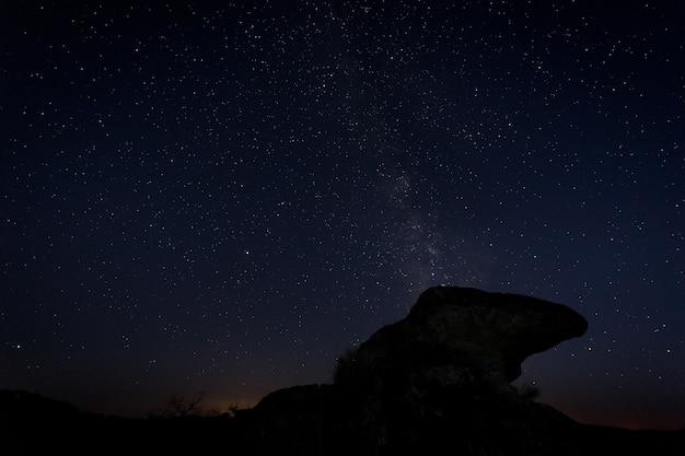 Barruecos extremadura spain 자연 지역의 야간 사진