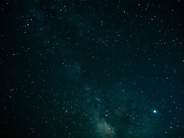 Night sky with stars and milky way background