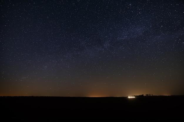 Ночное звездное небо для фона.