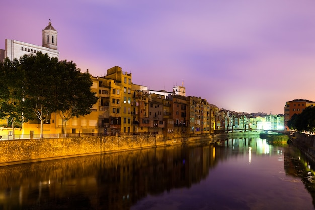 Night view of of girona