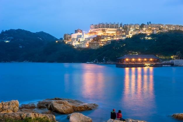 香港スタンレーの夜景