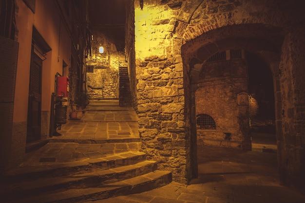 Night walk in porto venere