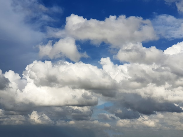 Nimbus clouds in the sky backgrounds