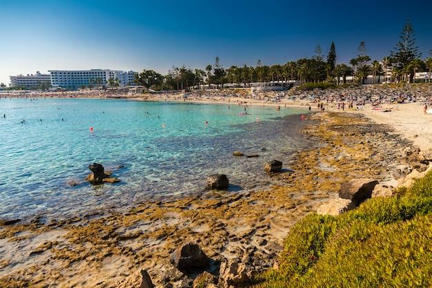 キプロス、アイヤナパのニッシビーチ