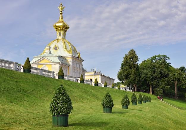 니즈니 공원 건물 전경 왕궁 특별 창고