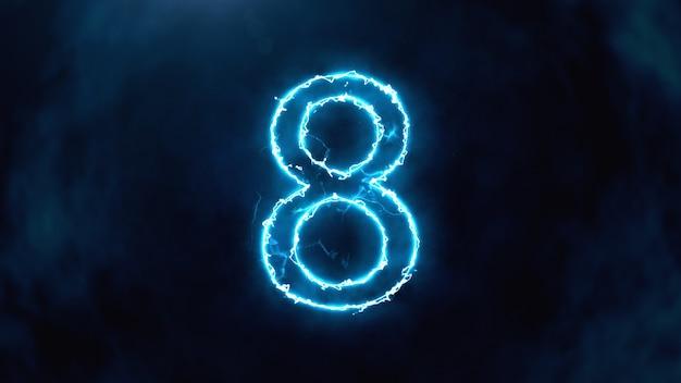 № 8 в огне