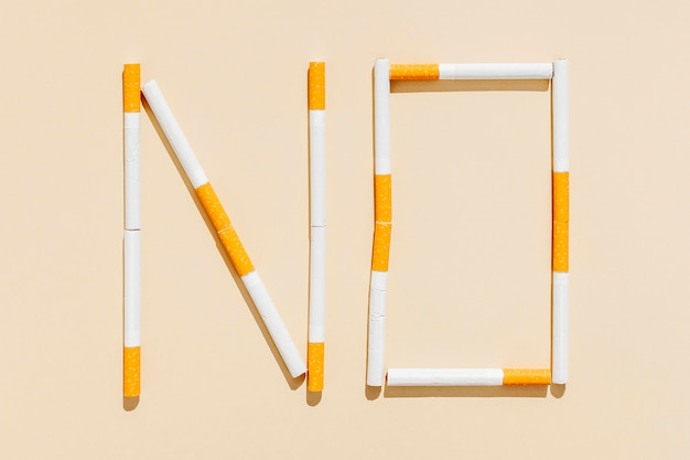No message for cigarettes