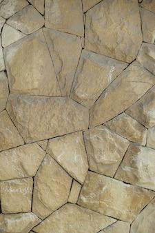 Senza persone raccordo blocco di cemento pavimentazione in pietra