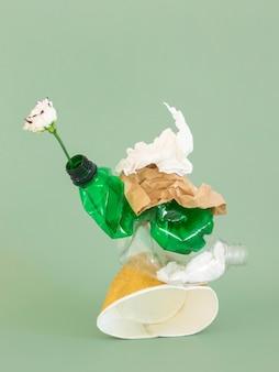 비 친환경 플라스틱 요소