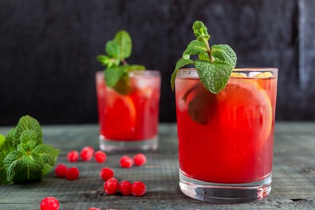 Домашний безалкогольный напиток из калины