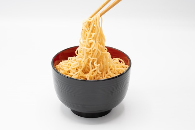 Noodle in a bowl