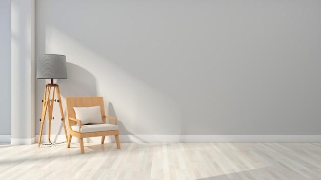 Premium Photo | Blue minimalist home background