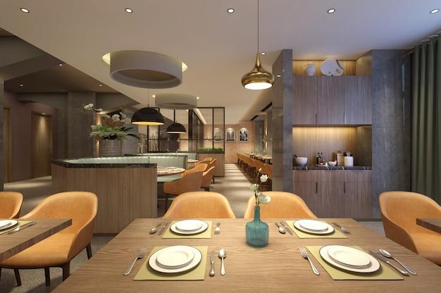 Дизайн интерьера ресторана в скандинавском стиле