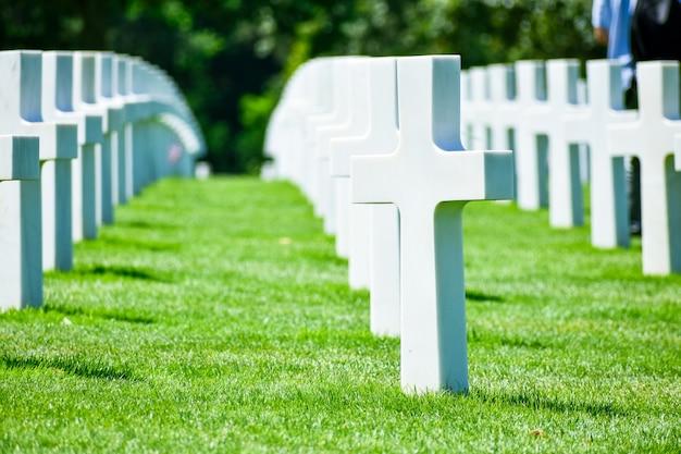 Американское кладбище в нормандии и мемориал
