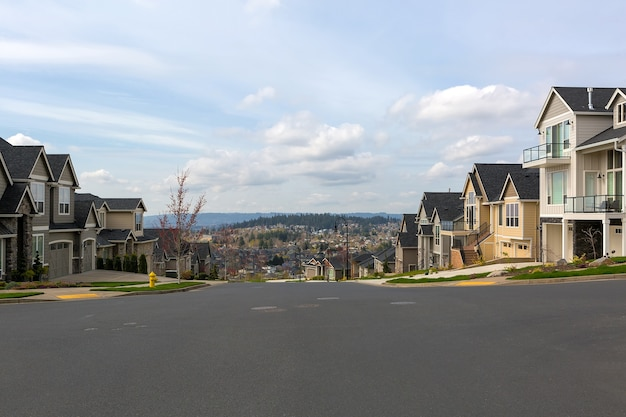 North american neighborhood homes in happy valley, or