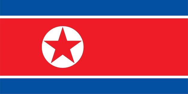 北朝鮮の北朝鮮旗