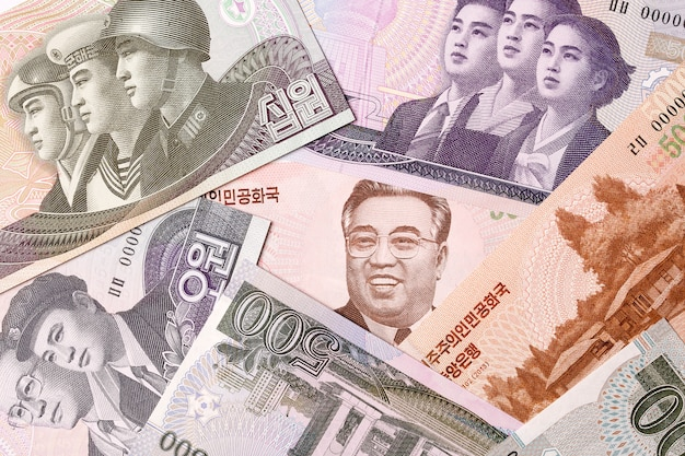 North korean money, a business background