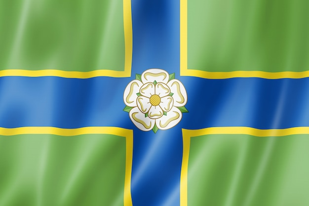 North riding of yorkshire county flag, uk