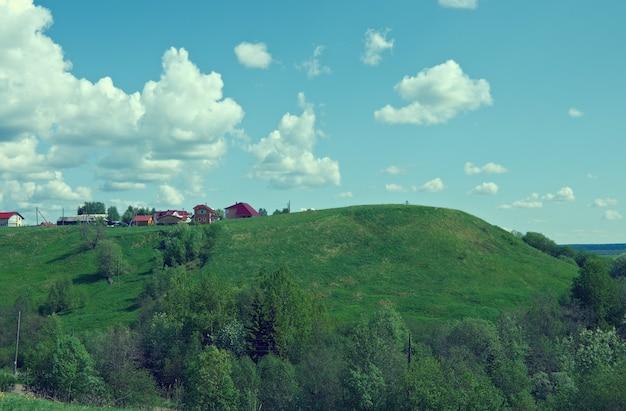 Северное село русское. архангельская область. русский север.