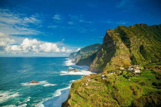 マデイラ島の北海岸