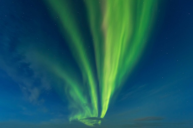 アイスランドのノーザンライト山。