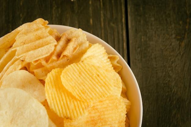 Nosh salty junk fatty food