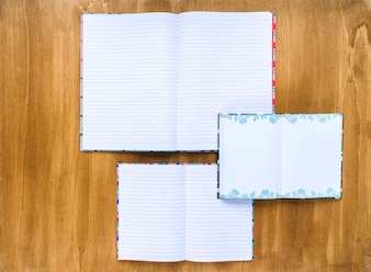 Notebook and diary templates