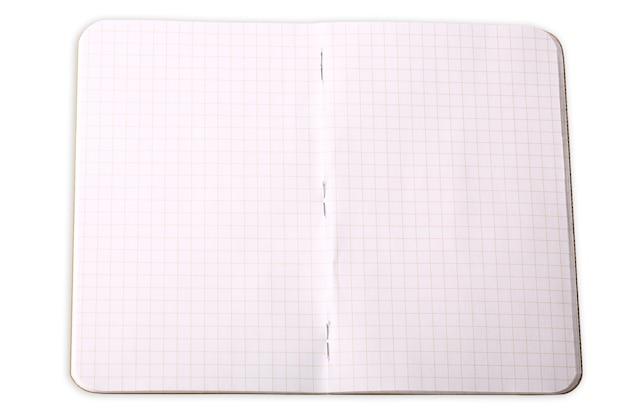 Ноутбук в клетке, изолированные на белом фоне