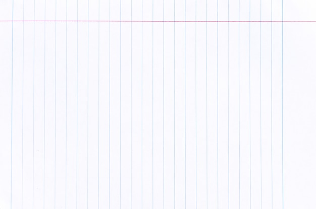 Notebook lined paper texture background